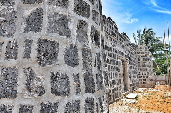 The Walls of Fort San Andres