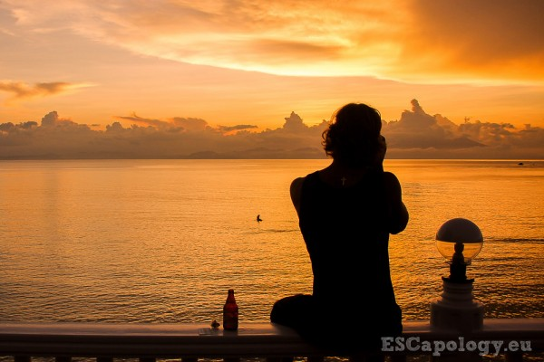 Wonderful Sunset at Biri Island, Northern Samar