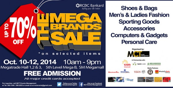 9th MegaBrands Sale 2015