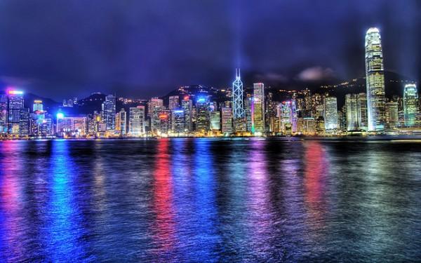 A Symphony of Light in Hong Kong