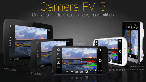 Camera FV-5 App for Android