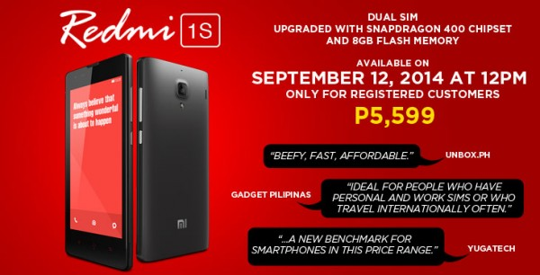 RedMi 1S Flash Sale