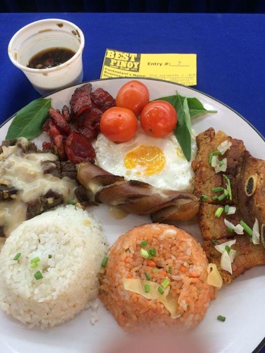 Pork Tapa Hot Silog from Baliwag