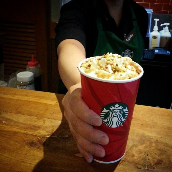 Christmas Cookie Latte photo by Starbucks Philippines FB