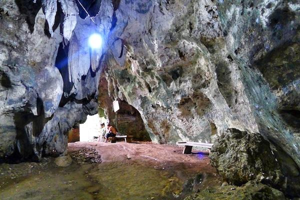 Hoyop-Hoyopan Cave in Camalig Albay