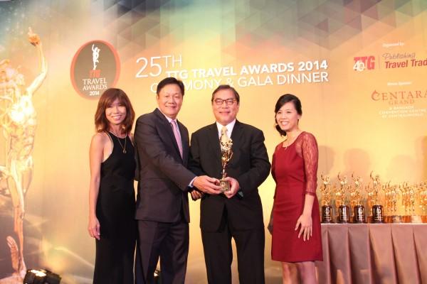 25th Annual TTG Travel Awards 2014