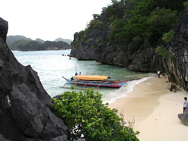 Matukad Island in Caramoan
