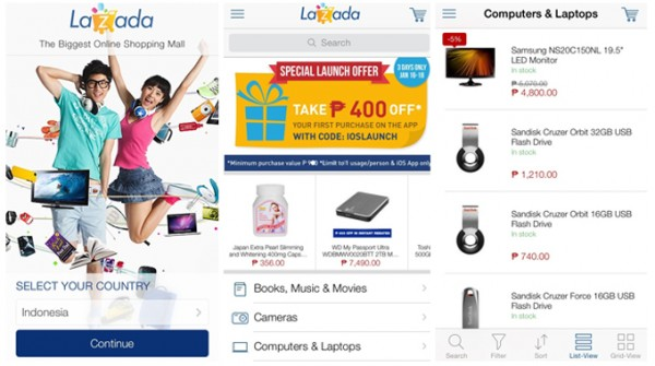 Online Shopping at Lazada