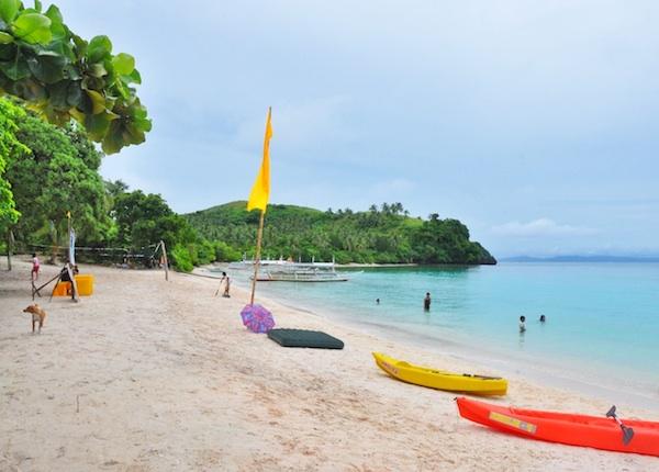 Subic Beach in Matnog