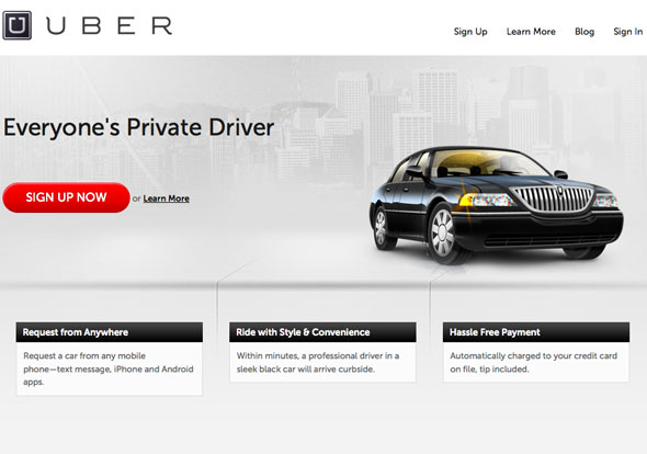 Uber Car Service now in Manila