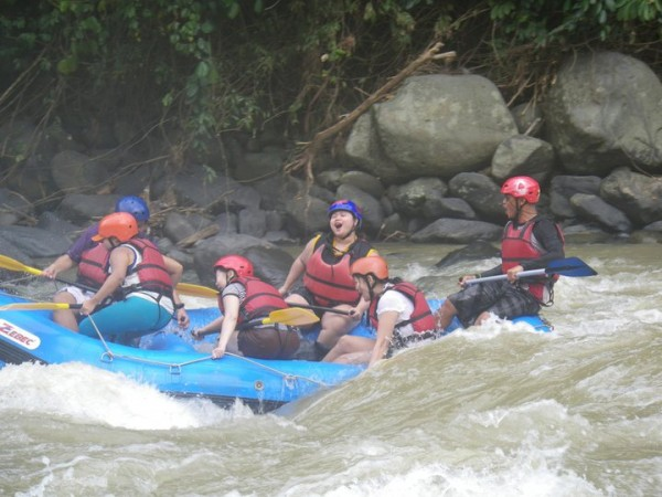 Whitewater Rafting in Davao by Tanggera.com