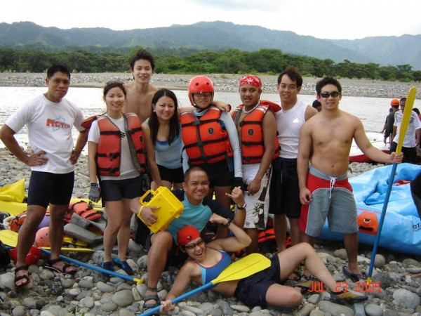 Whitewater Rafting with Fitness First Members 2005