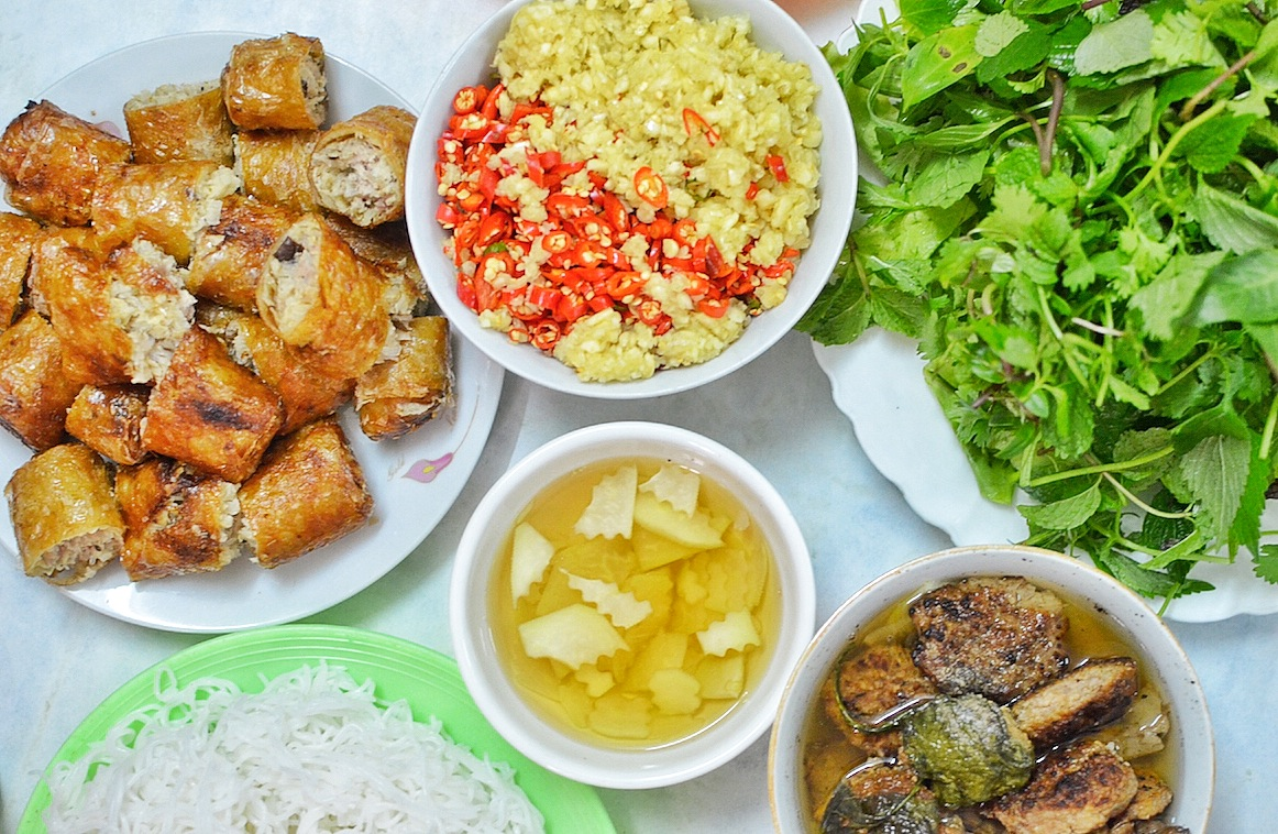 Bun Cha and Nem Cua Be: Eat in Hanoi like a Local - Out of Town Blog
