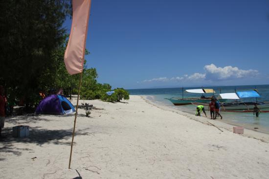 Dampalitan Beach in Padre Burgos Quezon