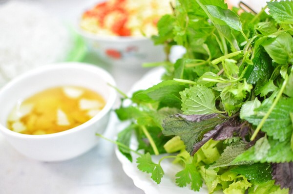 Fresh Greens and Herbs