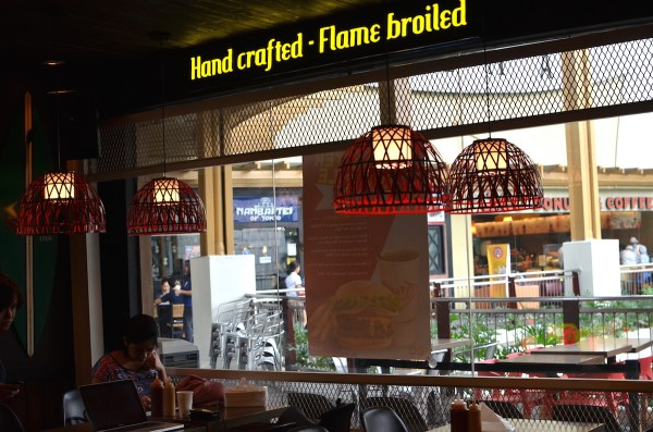 Hand Crafted - Flam Broiled Burgers
