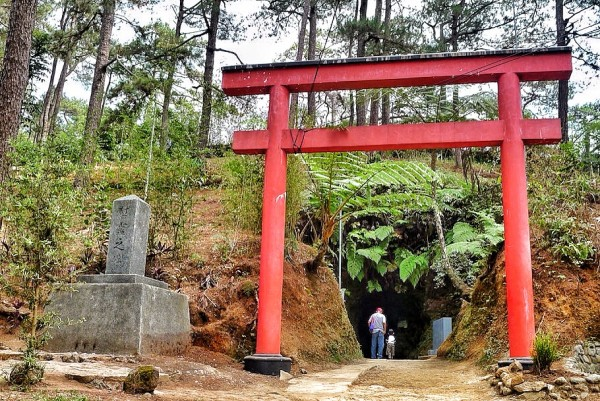 Japanese Tunnel Walk in Baguio Botanical Park