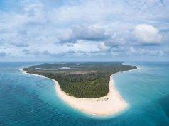 Jomalig Island Aerial Shot by @jolibranda IG account