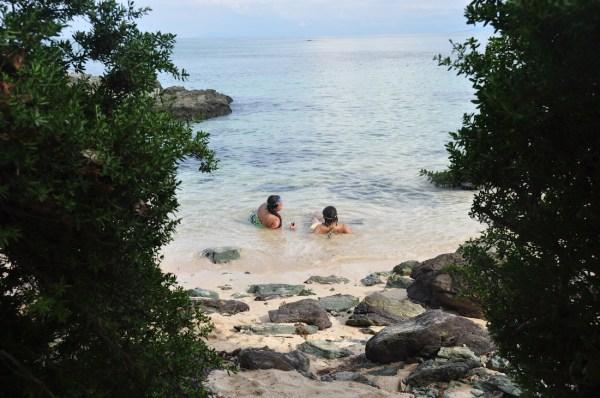 Kanaway Beach in Jomalig Island