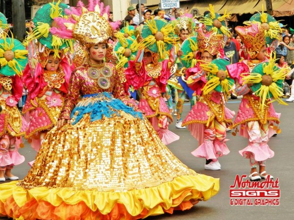 Panagbenga 2015 Opening Day Street Dance Parade - Elementary Division
