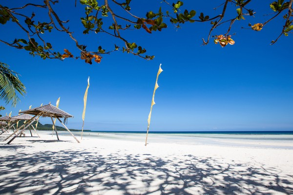 Tropical Beach In Anda, Bohol Island, Philippines
