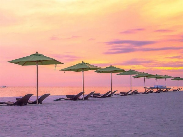 Sunset at South Palms Resort Panglao