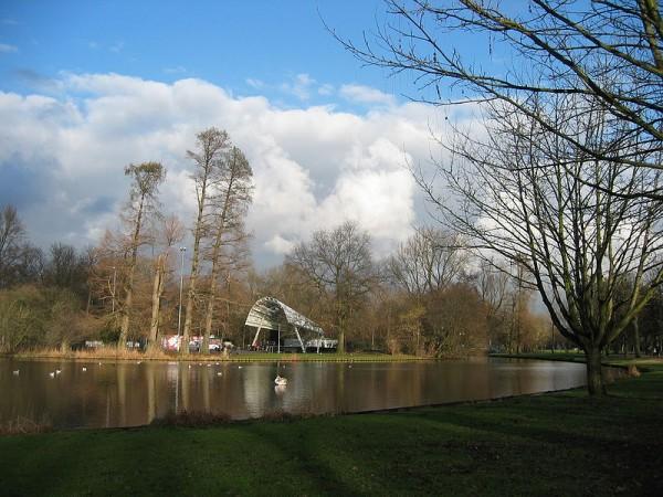The open air theatre in the Vondelpark via Wikipedia