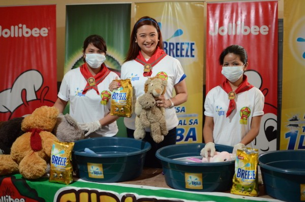 TinTin Bersola Babao with Breeze and Maaga and Pasko Campaign