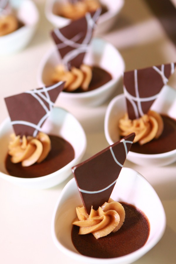 Tsokolate Oh! With Peanut Butter Mousse