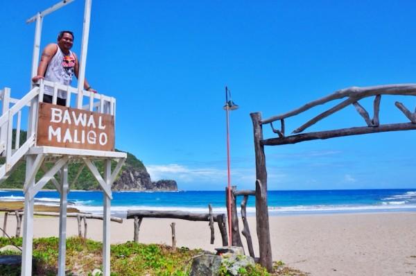 White Beach in Baler