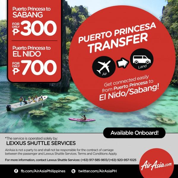 AirAsia now offers Lexxus Shuttle Services