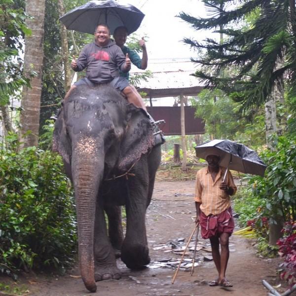 Elephant Ride in Thekkady Kerala