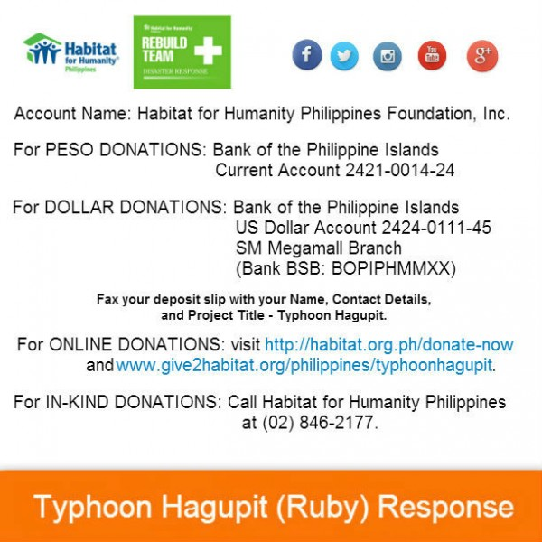 How to Help Typhoon Hagupit Victims