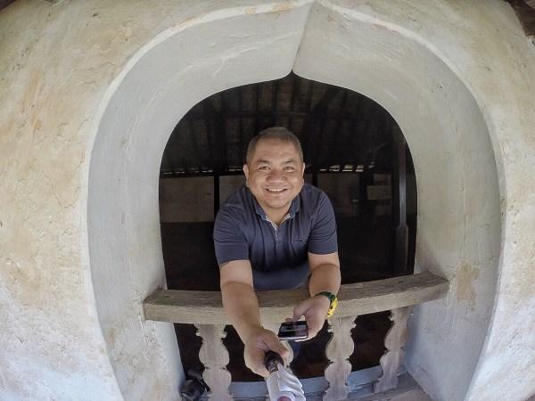 Selfie GoPro Shot inside Padmanabhapuram Palace