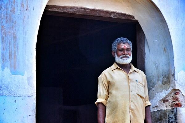 Tour Guide inside Padmanabhapuram Palace