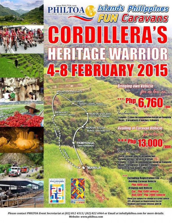 Cordillera Heritage Warrior Fun Carravan 2015
