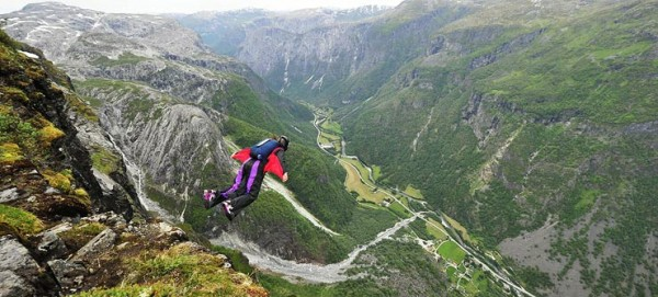 Extreme Sports Festival in Norway photo by VisitNorway.com
