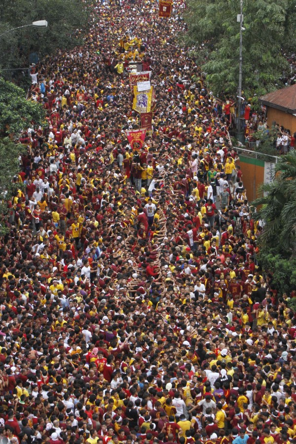 Black Nazarene 2017 Procession Route
