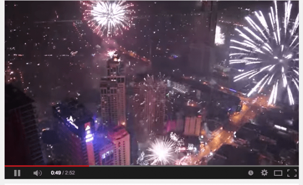 Manila hosted a spectacular fireworks display at midnight on January 1, 2015. AMADEUSIOM