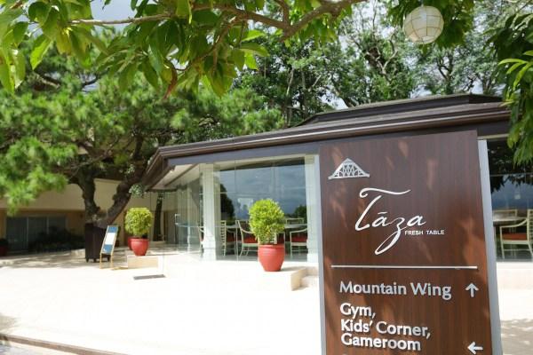 Taza Fresh Table Restaurant in Taal Vista Hotel Tagaytay