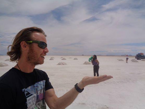 Uyuni Salt Flats in Bolivia
