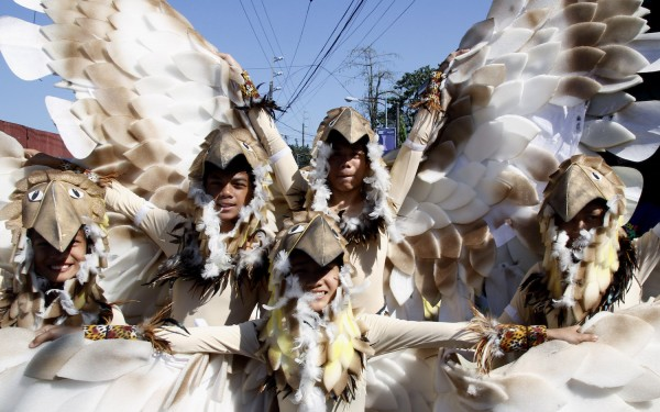 Eagle Costumes at Caracol Festival 2015