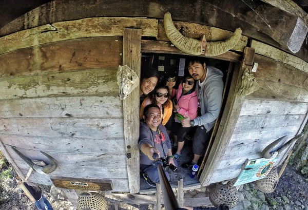 Group Selfie at Ifugao Life Cycle Rituals Museum in Kiangan