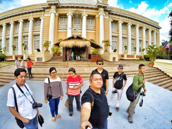 Travel Writers at Lingayen Capitol