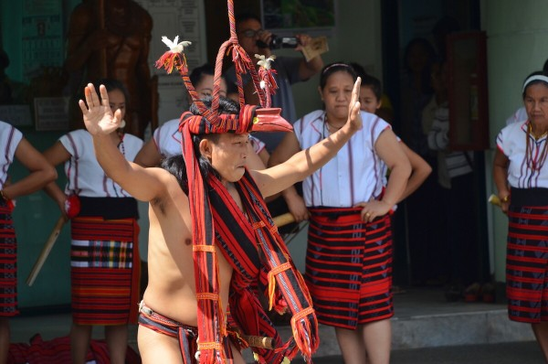 Ifugao Dancers in Lagawe