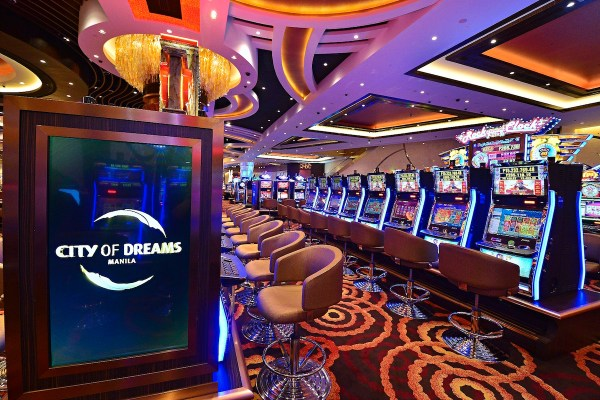 Inside City of Dreams Manila Casino