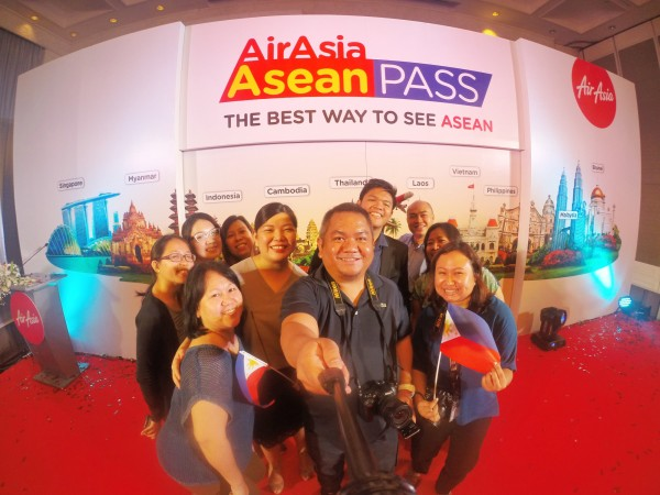 Media delegation from the Philippines with Atty Josephine Joy D. Caneba - CEO of AirAsia Philippines