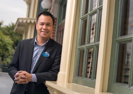 Rony Fortich, Musical Director of Hong Kong Disneyland Resort