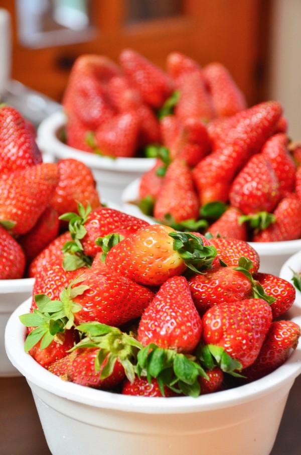 Strawberries from La Trinidad Benguet