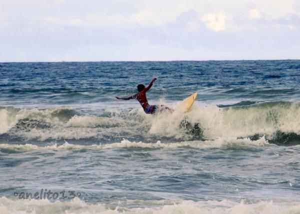 Surfing in Gubat Sorsogon photo by Hayahay Gubat Sorsogon Summer Camp